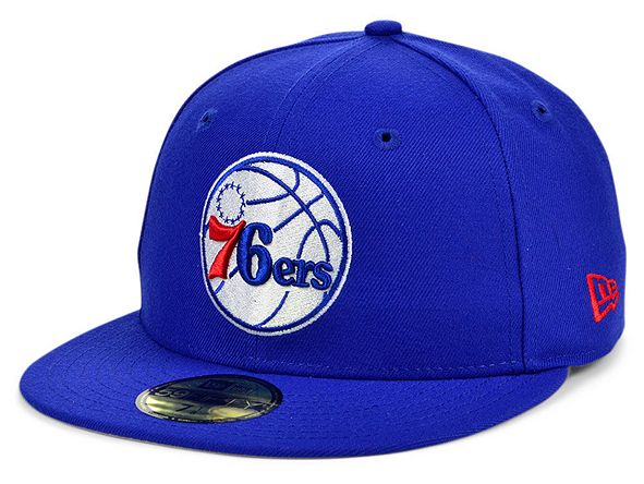 New Era Philadelphia 76ers The Circle Patch 59FIFTY-FITTED Cap