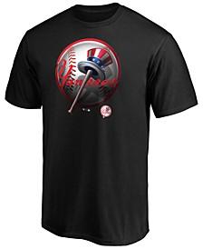New York Yankees Men's Midnight Mascot T-Shirt