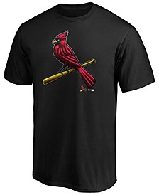St. Louis Cardinals Men's Midnight Mascot T-Shirt