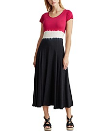 Color-Blocked Maxidress