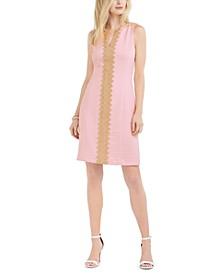 Brooke Lace-Trim Sheath Dress