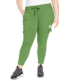 Plus Size Slim-Fit Cargo Jogger Pants