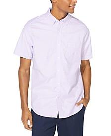 Men's Oxford Short Sleeve Shirt, Created for Macy's