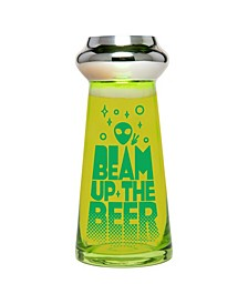 UFO Beer Glass Beam Up The Beer