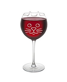The Perfect Pour Cat Wine Glass