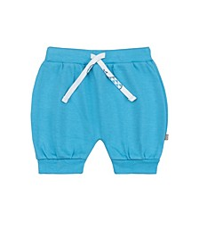 Baby Boys and Girls Bubbly Whale Puff Shorts