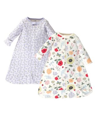 Touched by Nature Baby Organic Long Sleeve Sleeping Bag 2pk Little Giraffe