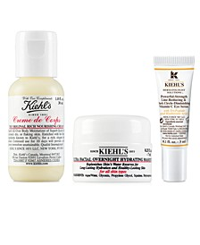 Choose Your Free 3-PC Gift with any $65 Kiehl's Purchase!