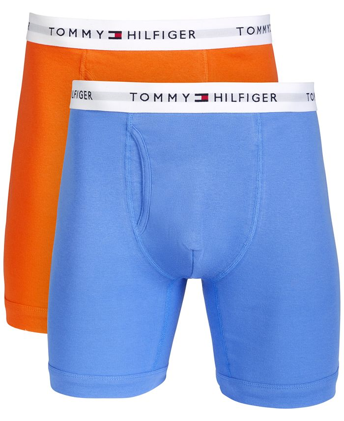 Tommy Hilfiger - Men's Big & Tall 2-Pk. Cotton Classics Boxer Briefs