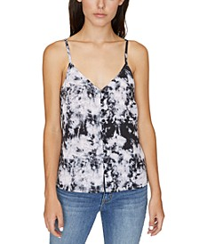 Essential Button-Front Tank Top