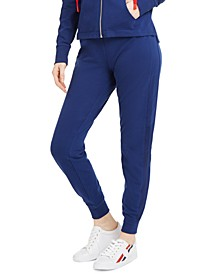 Active Mesh-Stripe Jogger Pants