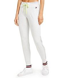 Active Mesh-Stripe Jogger Pants