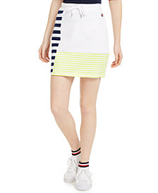 Tommy Hilfiger Sport Stripe Blocking Skirt