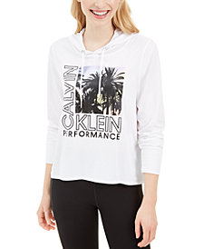 Calvin Klein Performance Logo-Graphic Hoodie