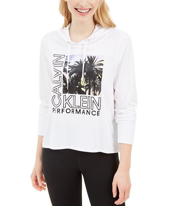 Calvin Klein Logo-Graphic Hoodie