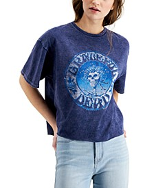 Grateful Dead Graphic Print Cotton T-Shirt
