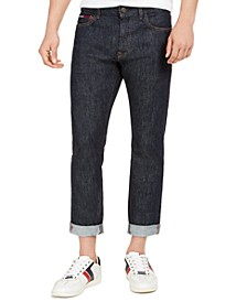 Men's Slim-Fit Stretch Selvedge Jeans