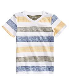 Little Boys Short Sleeve Striped T-Shirt