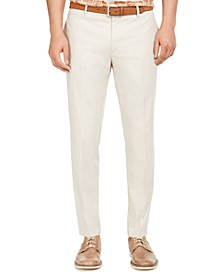 INC Men's Slim-Fit Linen Jasper Pants, Created for Macy's