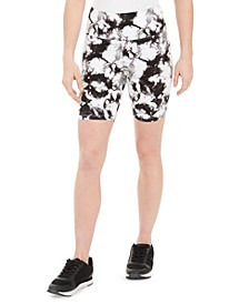INC Women's Tie-Dyed Bike Shorts, Created for Macy's