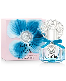 Receive a Complimentary Capri Eau de Parfum with any large spray purchase from the Vince Camuto fragrance collection