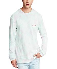 Men's Tie Dye Logo Sweatshirt