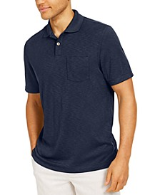 Island Men's Solid Pocket Polo Shirt, Created for Macy's
