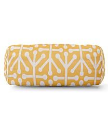 "Aruba Decorative Round Bolster Pillow 18.5"" x 8"""