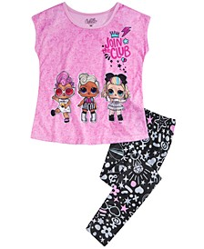 Little & Big Girls 2-Pc. Pajama Set