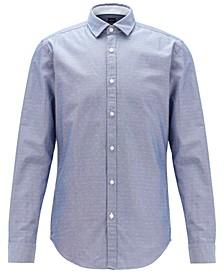 BOSS Men's Rikki_53 Dark Blue Shirt