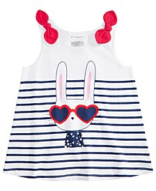 Baby Girls Cotton Bunny Tank Top, Created for Macy's