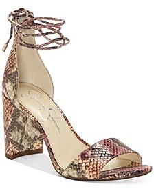 Nehah Ankle-Tie Dress Sandals