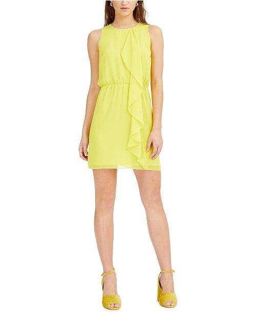 Bar III Ruffled Mini Dress, Created for Macy's