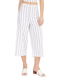 Striped Smocked-Waist Pants, Created for Macy's
