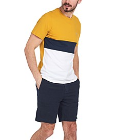 Men's Castle Pieced Colorblocked T-Shirt