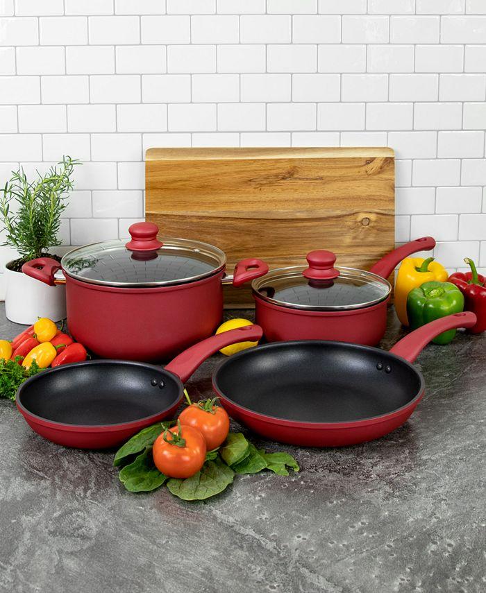 Hell's Kitchen - 6-Pc. Nonstick Cookware Set