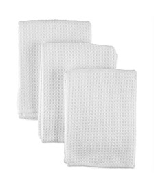 Micro Waffle Weave Dishcloth, Set of 3