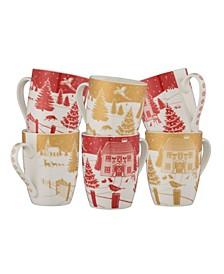 Christmas in the Country Mug Set
