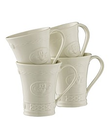 Claddagh Mugs, Set of 4