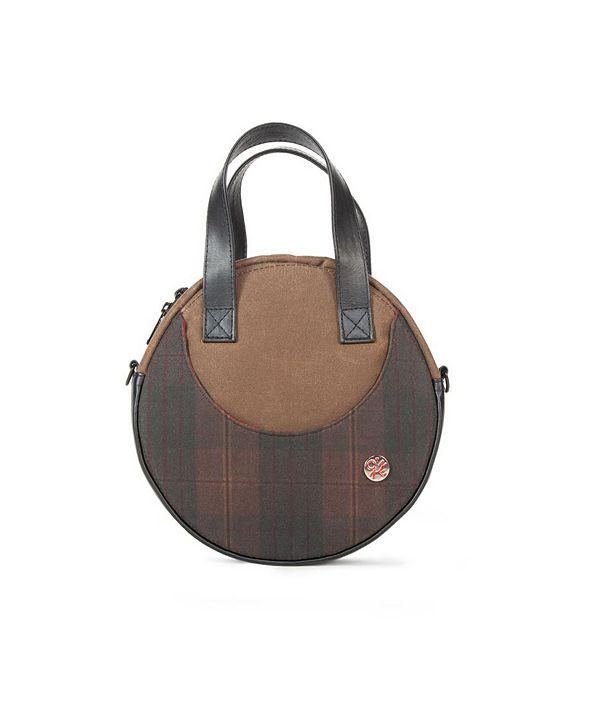 Manhattan Portage Waxed Circle Line Shoulder Bag