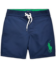 Little Boys Sanible Big Pony Swim Trunks