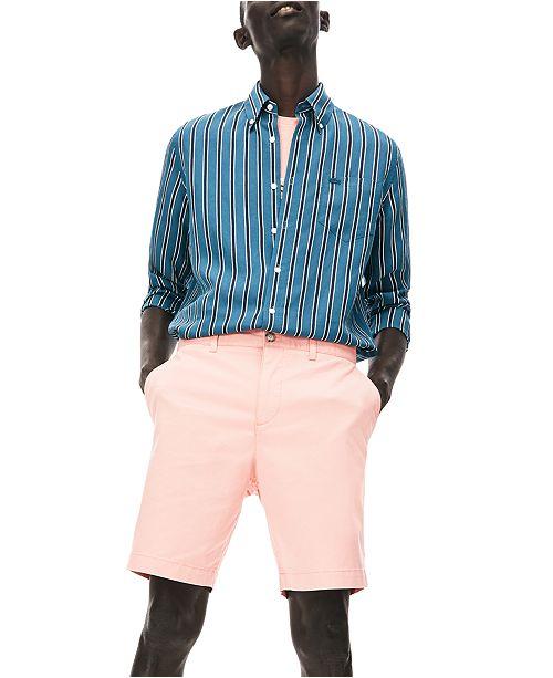Lacoste Men's Regular Fit Stretch Gabardine Shorts