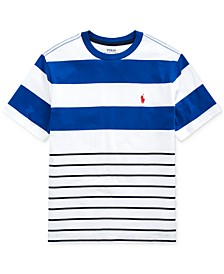 Big Boys Striped Cotton Jersey T-Shirt