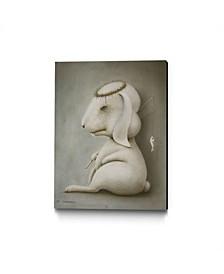 "Ruben Carrasco Jesus Museum Mounted Canvas 33"" x 44"""