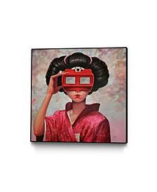 "Aaron Jasinski Clarity II Art Block Framed Canvas 24"" x 24"""