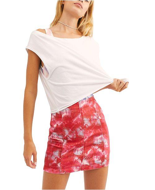 Free People Modern Femme Novelty Skirt