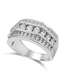 Men's Diamond  (2 ct. t.w.) Ring in 10K White Gold