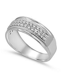 Men's Diamond (1/2 ct. t.w.) Ring in 10K White Gold