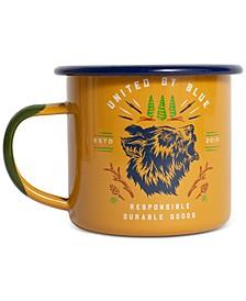 Grizzly 12 Ounce Enamel Steel Mug