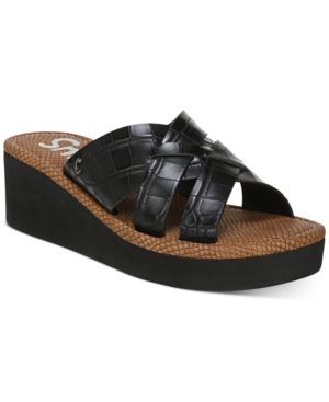Hadley Woven Platform Wedge Sandals Women's Shoes